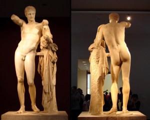 mitos_griegos_hermes_praxiteles