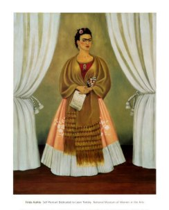 frida-kahlo-self-portrait-dedicated-to-leon-trotsky-1937
