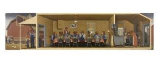 grant-wood-dinner-for-threshers-c-1934