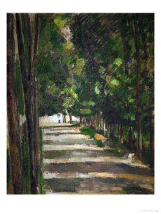 paul-cezanne-the-avenue-park-of-chantilly-circa-1879