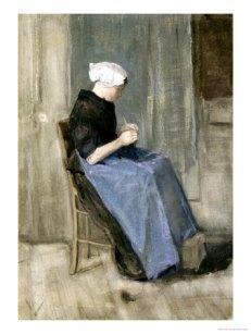 vincent-van-gogh-a-young-scheveningen-woman-knitting