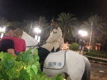 Policeman in Jumeirah Walk