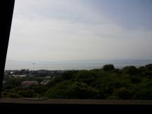 θέα από το κάστρο
