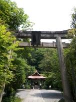 είσοδος σε shrine (κήπος λατρευτικός)