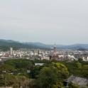 θέα από τον περίγυρο του κάστρου