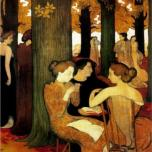 Maurice Denis - the-muses-1893