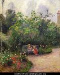 A-Corner-of-the-Garden-at-the-Hermitage,-Pontoise,-1877