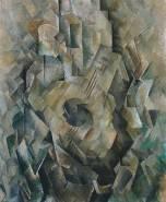 Mandora 1909-10 by Georges Braque 1882-1963