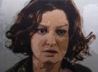 Portrait of Alexandra Maria Lara by Ramazan Bairakoglu